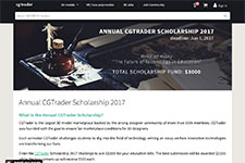 Annual CGTrader Scholarship