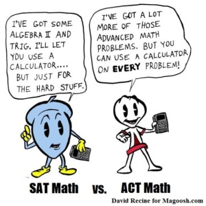 Which is harder, the ACT or SAT?