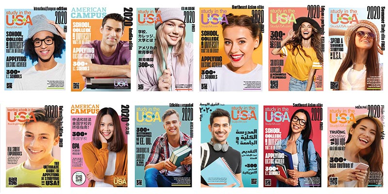Article Image 下杂志载我们的 Study in the USA®