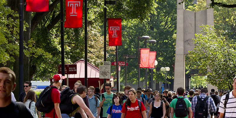 Article Image Tuan Tran Van from Vietnam: Studies English at Temple University in Philadelphia
