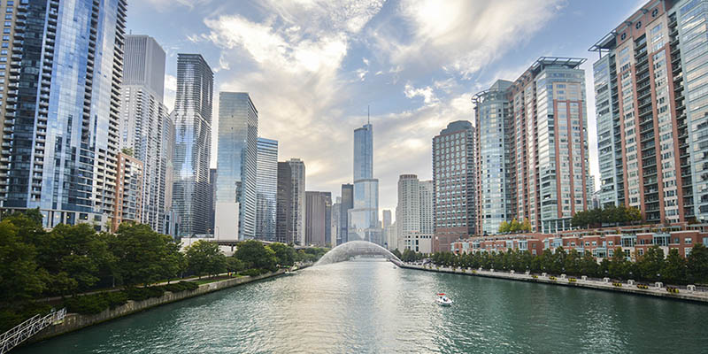 Where can i study english in chicago illinois