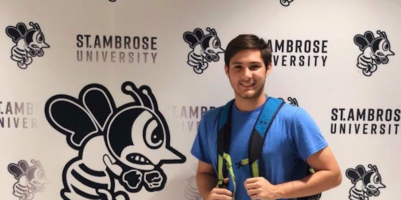 Article Image Gonzalo Pereira from Guayaquil, Ecuador, is studying Marketing and Management at St. Ambrose University in Davenport, Iowa.