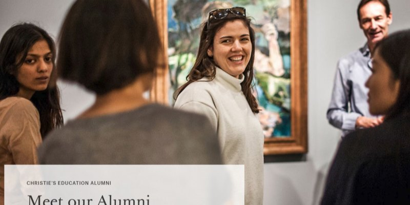 Article Image Ex-alumnos de Christie's Education: Clementine Butler-Gallie