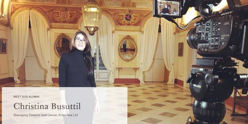 Article Image Ex-alunos da Christie's Education: Christina Busuttil