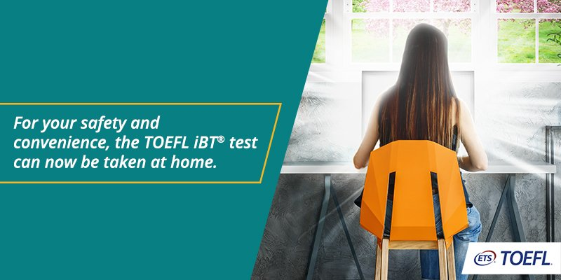 Article Image Keep your dreams moving: 5 Reasons to Take the TOEFL iBT® Test at Home