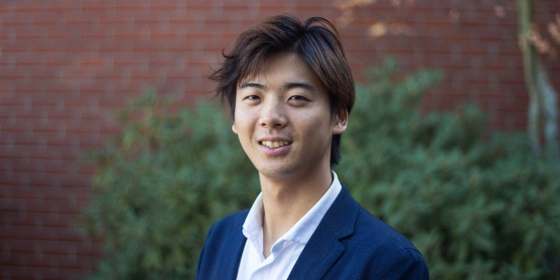 Article Image Yoshinobu Enomoto of Japan, majoring in Political Science at Chemeketa Community College in Salem, Oregon